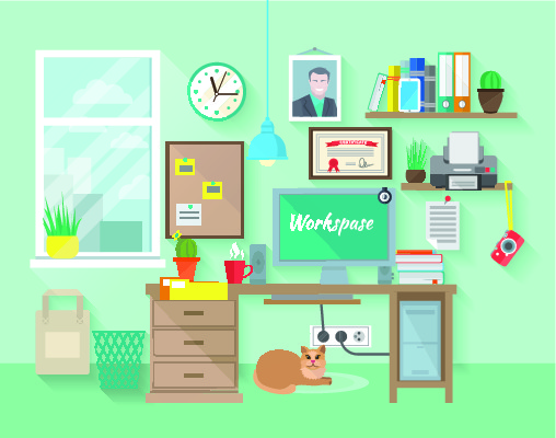 arbeiten im home office blog artikel familienservice. Black Bedroom Furniture Sets. Home Design Ideas